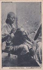 * Eritrea - Italian Colonialism - Hairdresser 1935