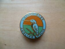 Kingfisher Angling Club enamel badge