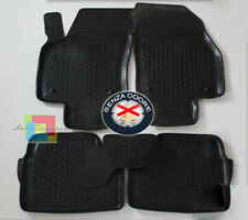 OPEL ASTRA H SW 2007-2010 SET TAPPETINI AUTO IN GOMMA - TAPPETI TOP QUALITA .-.