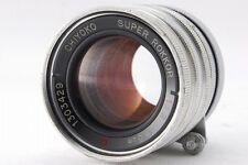 EXC +++++ Chiyoko Minolta Super Rokkor C 5cm 50mm f/2 Leica LTM L39 Schraube L Mount