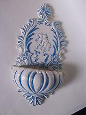 Vintage Ceramic Wall Pocket Shabby Chic 1964