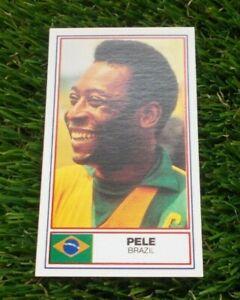 Pele Brazil Brasil Rothmans Football International Stars Card 1984