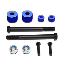"""Fit 2005-2017 Toyota Tacoma 4WD/AWD Blue 1""""Front Differential Drop Kit Spacers"""