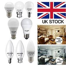 1 3 5 10 Pack 25W 40W 60W 100W LED PEARL LIGHT BULBS BC B22 ES E27 SES E14