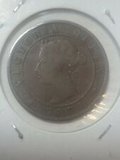 1871 Princ Edward IsleI LARGE 1 CENT PENNY COIN - Excellent example! Free ship