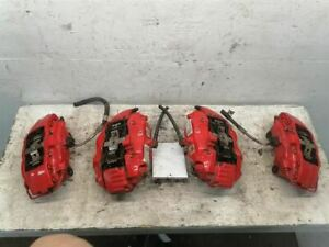 BREMBO Front & Rear RWD Red Fits 06-10 12-18 CHARGER 757376
