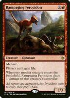 MtG x1 Foil Rampaging Ferocidon Ixalan - Magic the Gathering Card - TCG