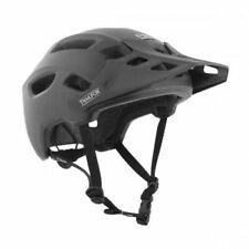 TSG Bicycle Helmet Trailfox Solid Color Satin Black Size: L/ XL (57-59 cm)