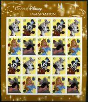 USA Folienbogen MiNr. 4417-20 postfrisch MNH Walt Disney, Comics (GF15070