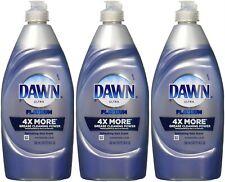 Dawn Ultra Dishwashing Liquid Dish Soap Platinum Refreshing Rain 3 Pack