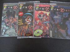 Crimson Heft 1, Variant  1, 3,5 jeweils signiert H. Ramos  komplett Dino Verlag