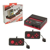 NES Console 8bit Top Loader Retro-bit - Black/Red (EverDrive N8 Compatible)