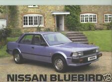 1985 Nissan Bluebird Sales Catalog