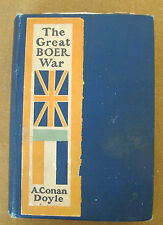 THE GREAT BOER WAR with 5 Maps in Colors by A. Conan Doyle - 1900 - RARE!!