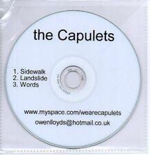 (AB595) The Capulets, Sidewalk - DJ CD