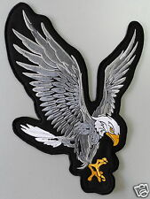 Embroidered Biker Motorcycle Back Eagle Jacket Patch