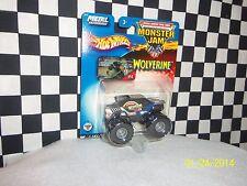 Hot Wheels: Monster Jam, WOLVERINE, 2 trucks, variations 1:64