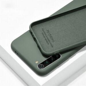 For Xiaomi Redmi Note 8 7 10 Pro Mi 11 A3 Liquid Silicone Shockproof Case Cover