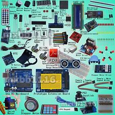 Professional UNO R3 Starter Kit for Arduino Servo Motor Compass Gyro Hi Quality
