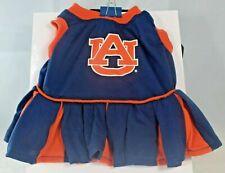 NCAA - Auburn University AU Tigers Cheerleader Outfit (Pet, Dog) Extra Small