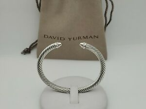 David Yurman Cable Classics Bracelet with Diamonds 5mm size small