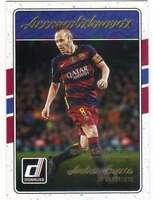 2016 Donruss Soccer Accomplishments #3 Andres Iniesta FC Barcelona