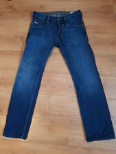 Original Diesel timmen 008RS Regular Recto Azul Denim de Superdry W30 L30 Excelente