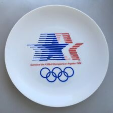 VINTAGE 1984 Olympic Commemorative Plate Los Angeles
