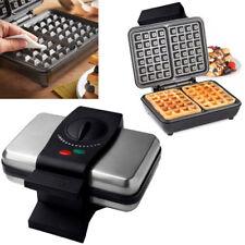Gaufre Belge Maker fer machine 2 fentes AUTOMATIQUE contrôle de la température 1000 W desserts