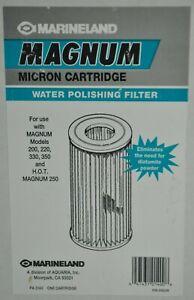 Marineland Magnum Micron Cartridge Water Polishing Filter 200 220 330 350 HOT250