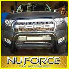 FORD EVEREST UA (2015-2017) NUDGE BAR BLACK SUITS TECH PACK WITH SENSORS