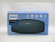NEW Philips EverPlay Portable Bluetooth Speaker - Teal (BT6900A/37)
