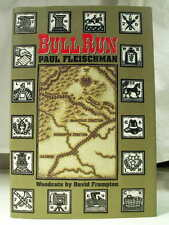 1993 BULL RUN PAUL FLEISCHMAN DAVID FRAMPTON Illustrations 1st Ed Fine HCDJ