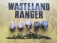 VTS Wasteland Ranger Mad Max Fury Road Hands x 5 loose 1/6th scale