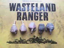 VTS Páramo Ranger Mad Max Furia Road manos X 5 Suelto Escala 1/6th