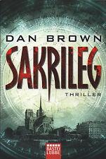 SAKRILEG - Roman von Dan Brown TB - NEU