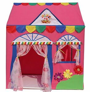 Hut Type Kids Toys Jumbo Size Play Tent House for Boys and Girls(Pink) Free Ship