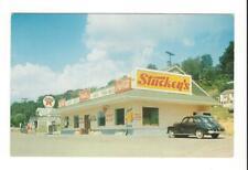 Stuckey's - US Highway 25W - LaFollette TN - Tennessee - Vintage Postcard