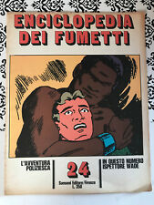Enciclopedia dei fumetti 24 l'avventura poliziesca anno 1970