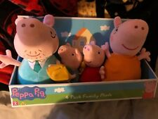 Peppa Pig Four Plush Soft Toy Set