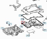 MB C W204 Engine Oil Sump Pan C180 CDI Diesel 2.1 A6510102913 NEW GENUINE