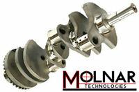 """Molnar Small Block Chev 4340 Forged Crank - 4.000"""" Stroke"""