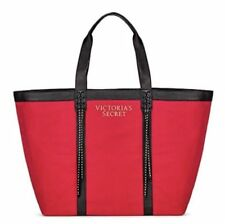 "Victoria""s Secret Red Studded  Handbag Tote Holiday bag 2017 Limited Edition NWT"