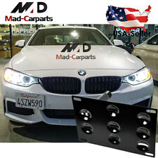 Bumper Tow Hook License Plate Mounting Holder For BMW F30 F32 F10 3 4 5 Series