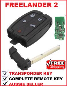 1 x REMOTE CAR KEY FOB suitable for LAND ROVER FREELANDER 2