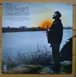 Pete Seeger - Greatest Hits - original UK vinyl LP CBS 31642
