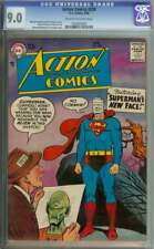 ACTION COMICS #239 CGC 9.0 CR/OW PAGES // CURT SWAN SILVER AGE SUPERMAN COVER