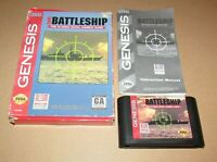 Super Battleship for Sega Genesis Complete Fast Shipping!