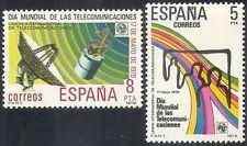 Spain 1979 Communications/Telecomms/Satellite/Space/Radio Aerial 2v set (n41811)