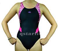 YingFa Girls Juniors Women Practice Training Racing Bathing Swimwear Size 24-36